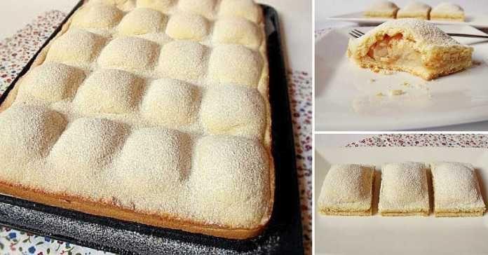 Recept na jablečný moučník