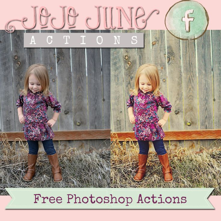 Newly released FREE Adobe Photoshop Actions » karajophotography... -All you do is press play and your photos are transformed!!