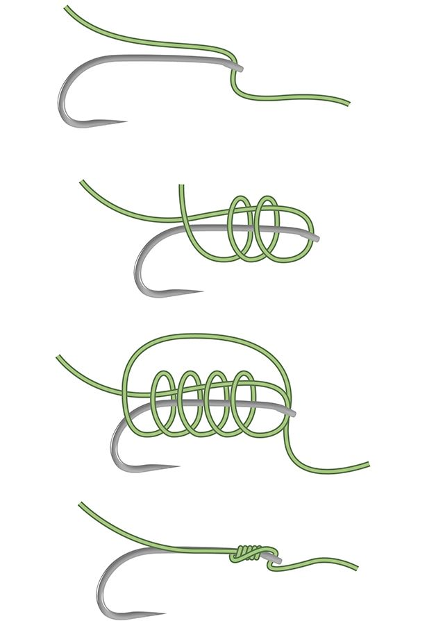 16 best images about fishing knots nodi da pesca on for Easiest fishing knot