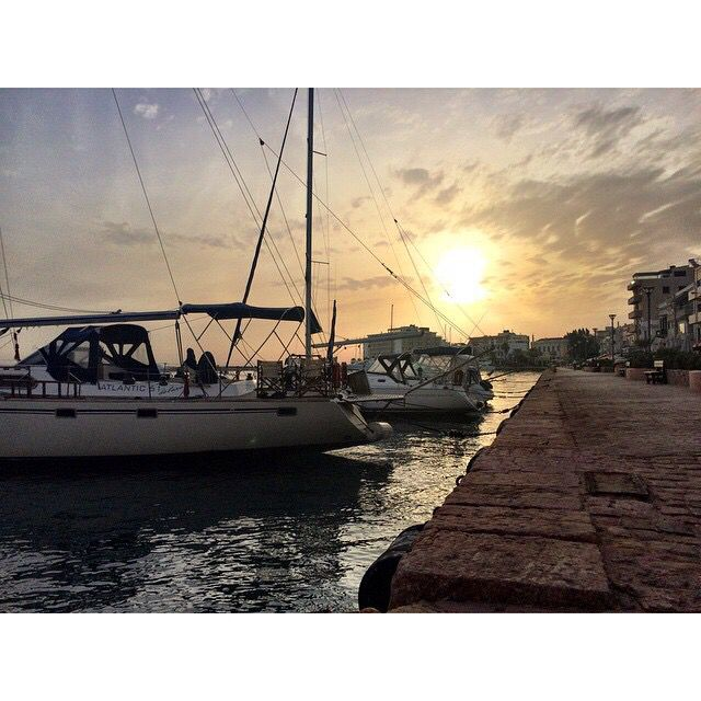Chios Port, Greece