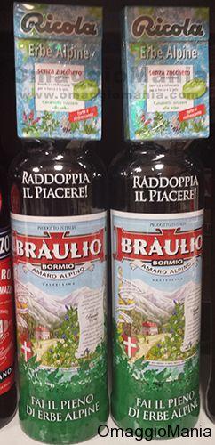 Caramelle Ricola omaggio con Amaro Bràulio - http://www.omaggiomania.com/omaggi-con-acquisto/caramelle-ricola-omaggio-con-amaro-braulio/