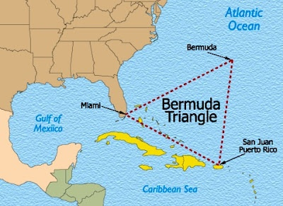 The Bermuda Triangle. #MysteryMonday. What's your favourite mystery?