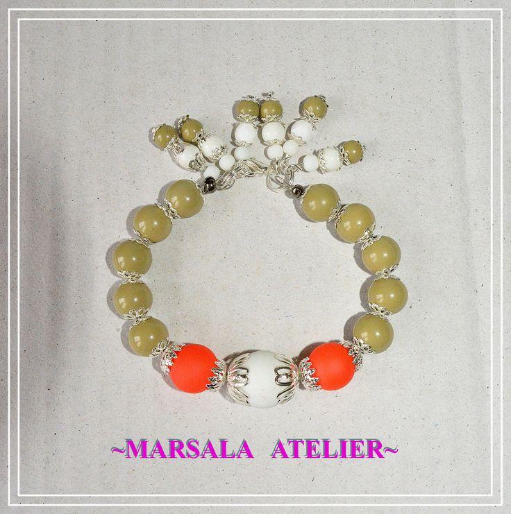 Marsala Olive Bracelet