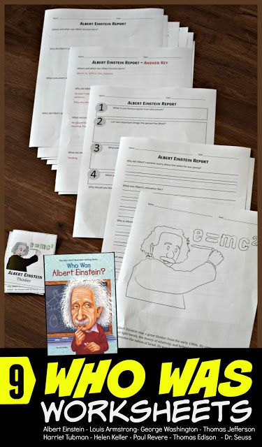 Who Was Books Printable Worksheets 2nd Grade Play  Learn