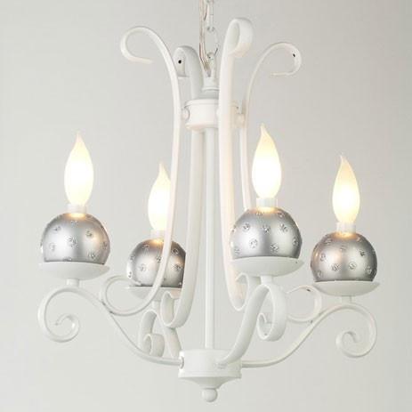 Heavenly Lights Modern Dot In Silver Chandelier Charm 7 99 Http