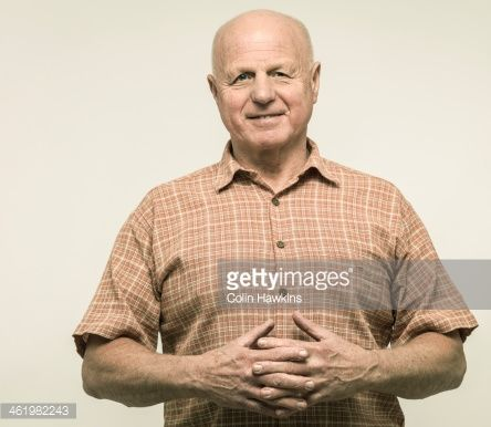 Stock Photo : Senior Male portrait