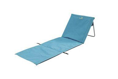 Easy Camp Luftbett/-matratze »Easy Camp Sun blue« Aufgeklappt und zusammengefaltet in Sekunden