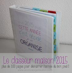 classeur maison 2015 à imprimer gratuitement