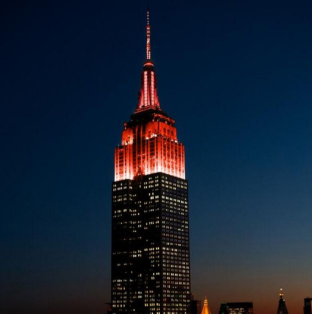 Empire State Building Today Show Colors