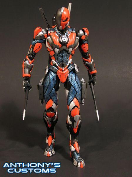 Deathstroke Play Arts Kai Variant Custom Action Figure