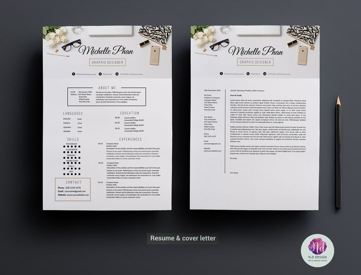 106 best GraphicArt - Layout - Resume images on Pinterest Best - modern resumes templates