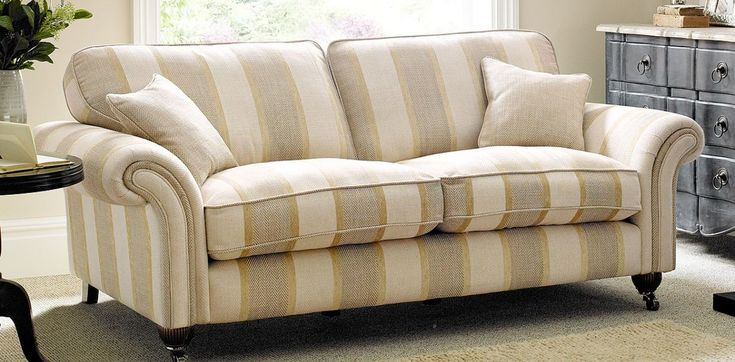 3 Seater Striped Sofa Dfs Striped Sofa Sofa Home Decor