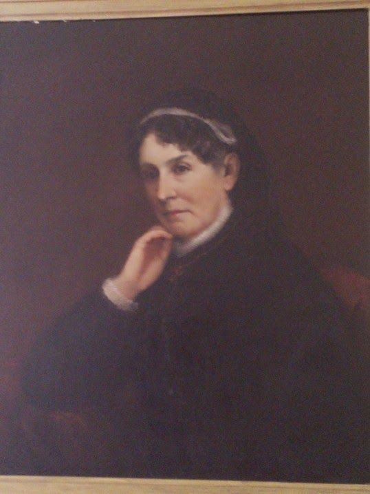 Sarah Polk as a widow