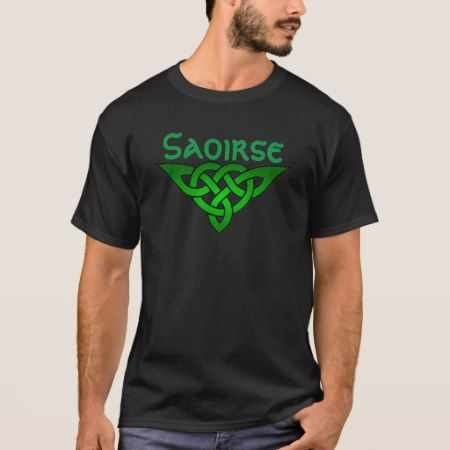 Saoirse - Freedom Irish Celtic Design T-Shirt - tap to personalize and get yours