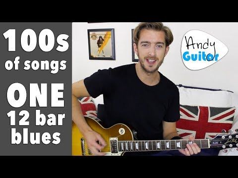 12 Bar Blues For Beginners 100s Of Rock N Roll Songs One Chord Sequence Youtube Guitar Songs Songs Guitar Lessons