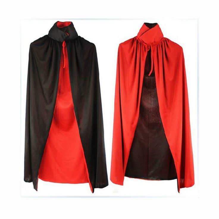 Cloak Adult 140cm Vampire Dracula Villian Goth Halloween Magician Cape XL | Home & Garden, Holiday & Seasonal Décor, Halloween | eBay!