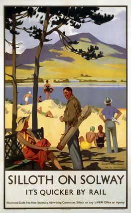 England - Cumbria - Silloth-on-Solway', LNER poster, 1923-1947.