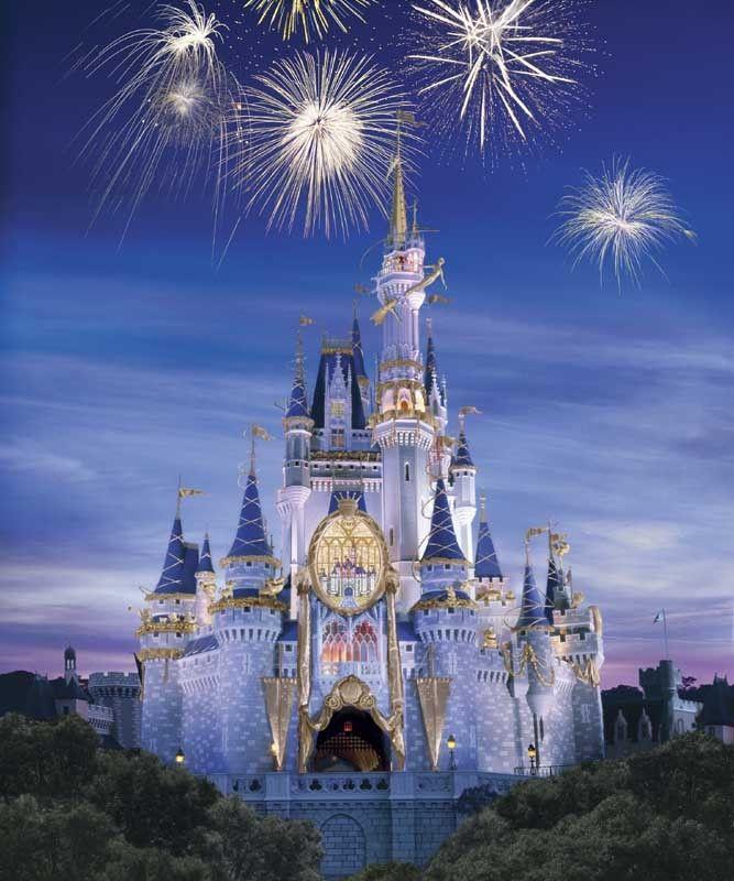 #Cinderellas Castle in #Magic Kingdom