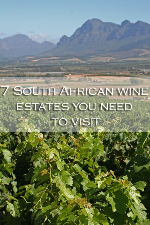 Seven South African wine estates you need to visit #southafrica #wine  |  cooksister.com