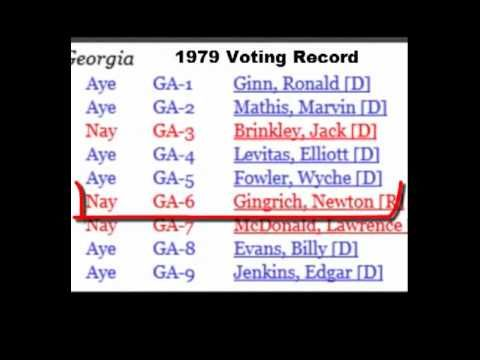 PROOF Ron Paul NOT RACIST! Martin Luther King 1979 Holiday Who Voted AYE...