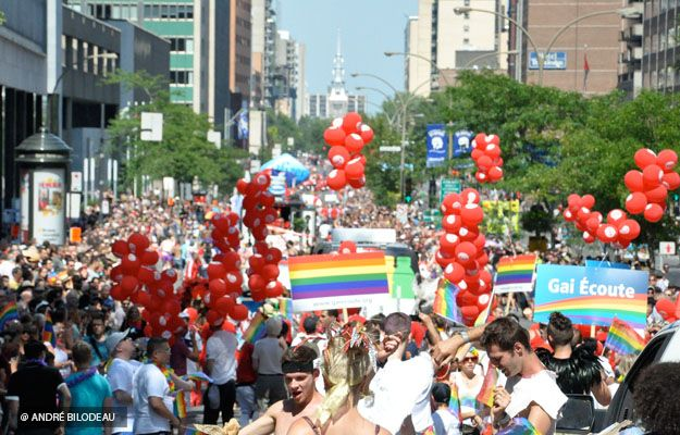 Montreal, Canada Gay Pride - Fierté Montréal Pride's annual Gay Pride celebrations run from August 10 to 16 and will feature a series of indoor and outdoor parties and concerts.