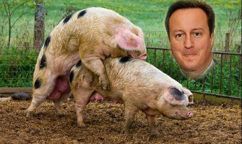21SEP British Prime Minister David Cameron was overnight accused of having indulged in a tastelessly demeaning act of necro-bestiality in Delingpole's rooms at the Pickwater Quad, Oxford, when he w... http://winstonclose.me/2015/09/22/i-did-not-have-sex-with-that-pig-written-by-no-place-for-sheep/
