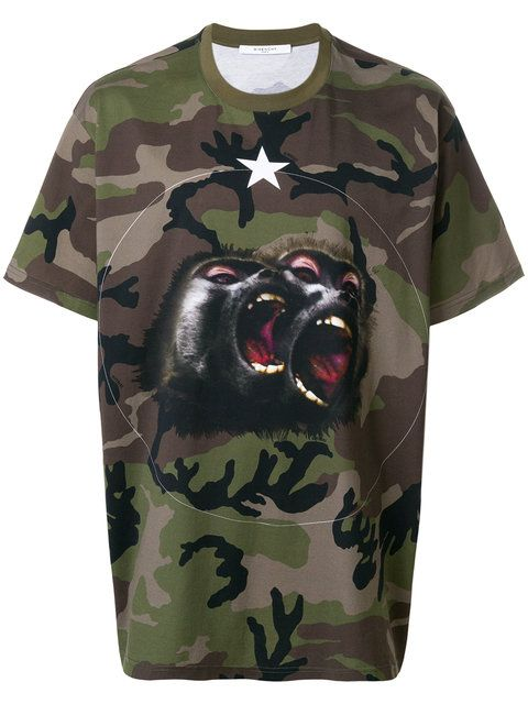 Givenchy T-shirt Oversize Monkey Brothers - Farfetch