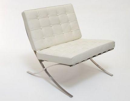 Barcelona Chair Cream - £700.00 - Hicks and Hicks