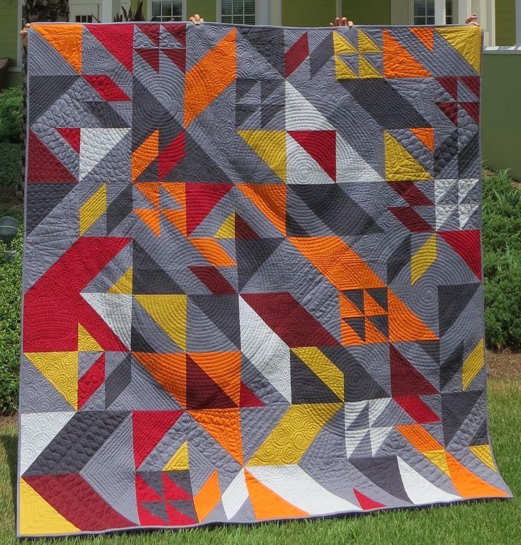 Confederate Flag Quilt Block Pattern