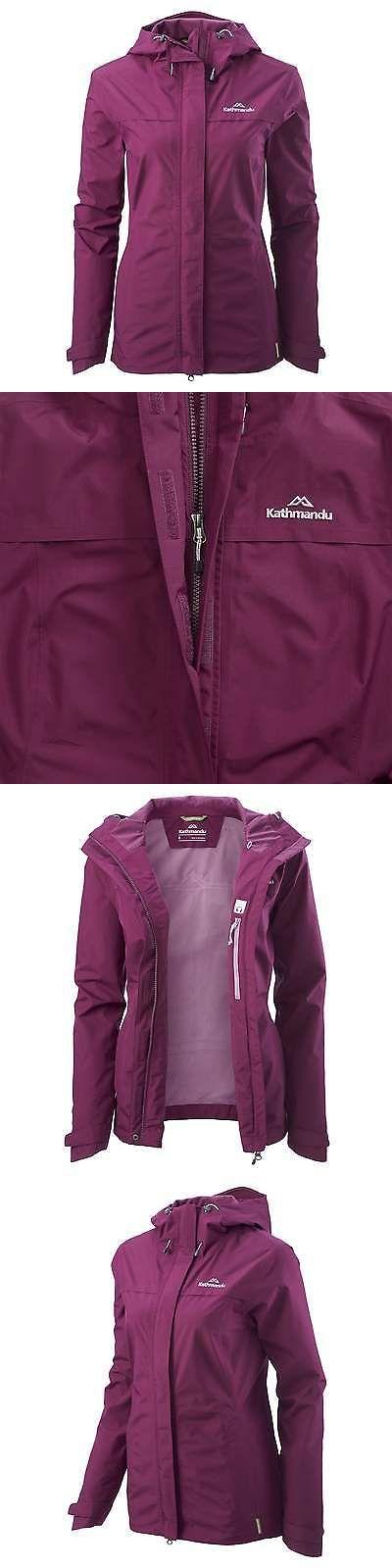 Coats and Jackets 181365: Kathmandu Bealey Womens Gore-Tex Windproof Waterproof Outdoor Rain Jacket Purple -> BUY IT NOW ONLY: $199.98 on eBay!