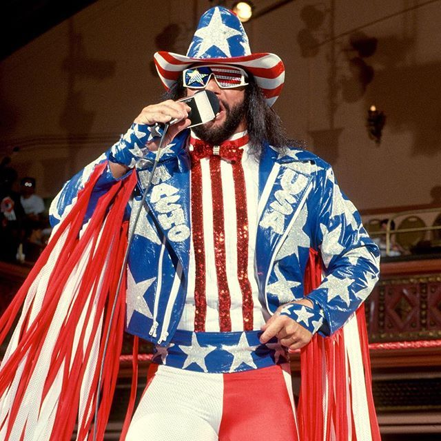 Consider your #FlagDay made courtesy of #MachoManRandySavage...