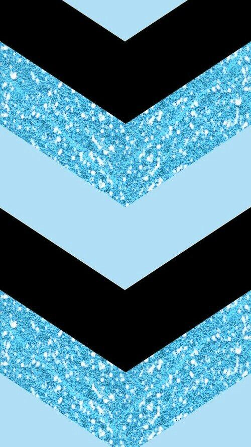 BLUE AND BLACK CHEVRON, IPHONE WALLPAPER BACKGROUND *