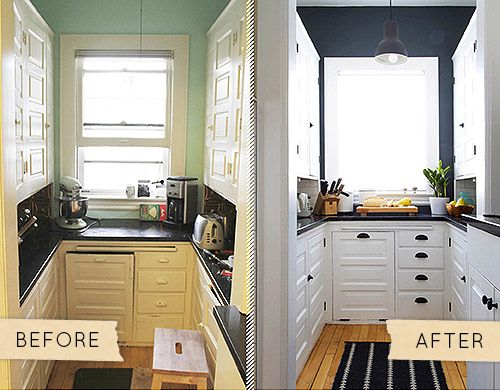 14 best Before - After images on Pinterest | Before after, DIY and Ideas Small Kitchen Makeovers Before And After Html on kitchen rust-oleum cabinet transformations before and after, kitchen makeovers for small kitchens, kitchen cabinet makeover ideas, kitchen backsplash, cheap kitchen makeovers before and after, old kitchen cabinets makeover before and after, kitchen remodels before after, kitchen makeover ideas on a budget, kitchen paint color ideas with dark cabinets,