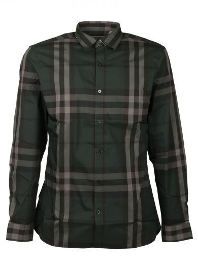 BURBERRY Slim Checked Shirt. #burberry #cloth #shirts