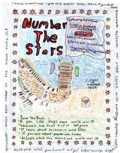 projects for number the stars | Poster Book Report ...