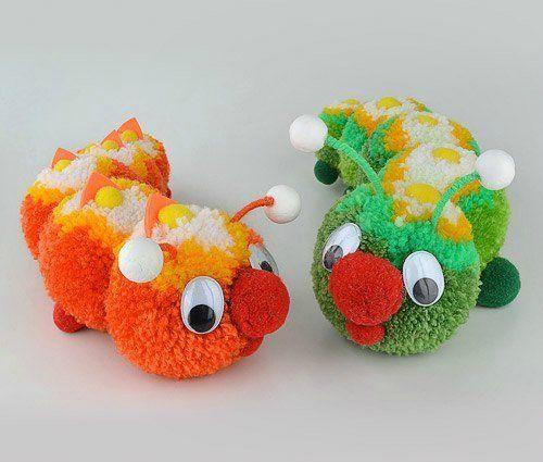 игрушки из помпонов - Поиск в Google