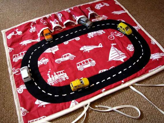 Sewing Patten Car Play Mat Very Easy Quick by AfricanGranny