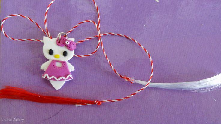 Pandantiv - bijuterie Hello Kitty #martisor
