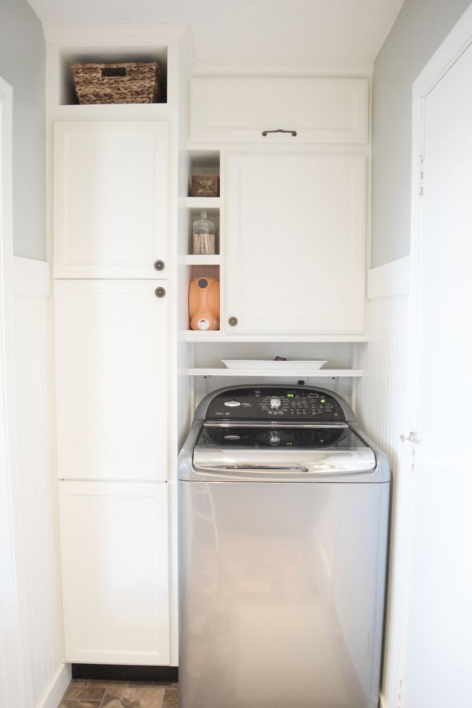Making The Best Use Of Space In A Tiny Laundry Room Tiny Laundry