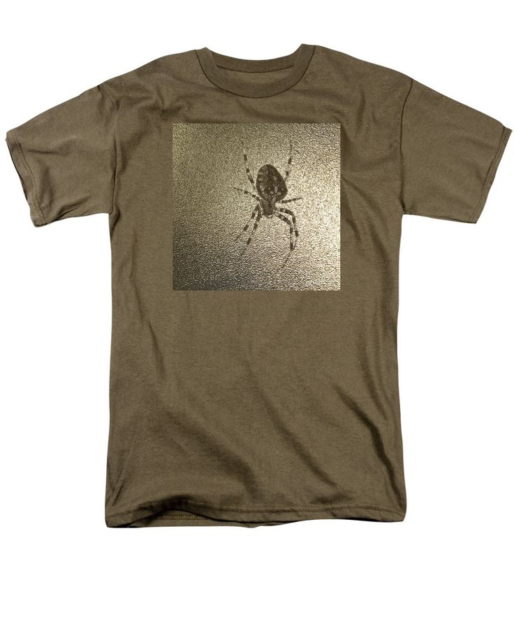 Purchase an adult t-shirt featuring the image of Golden Cross Spider by Sverre…