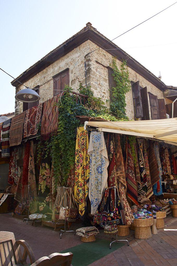 Alfombras para la venta. Fethiye Turquía