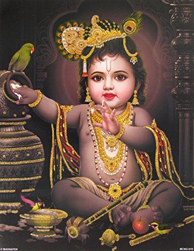 Lord Krishna / Shree Krishna / Baby Krishna / Bal Krishna... https://www.amazon.com/dp/B00NRSU47Q/ref=cm_sw_r_pi_dp_gOVyxb8E0ZNF8