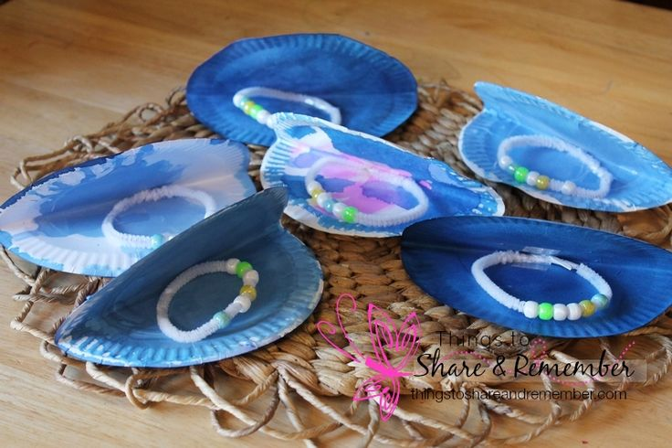 Ocean Commotion >> Oyster Pearls Preschool Craft