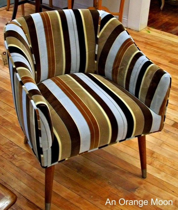 3 Gio Ponti Chairs #gioponti #chairs #armchair #chicago #krrb: Decor Ideas, Armchairs Chicago, Chairs Armchairs, 600 Stripes, Pont Chairs, Stripes Chairs, 1001 Chairs, Chairs Gioponti, Gioponti Chairs
