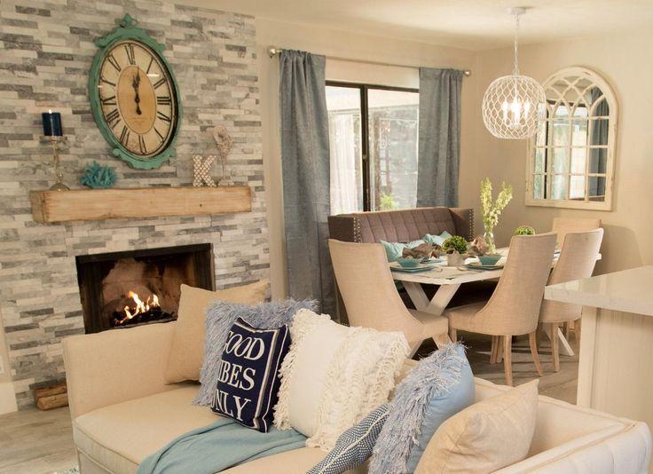 Image result for flip or flop vegas gray fireplace