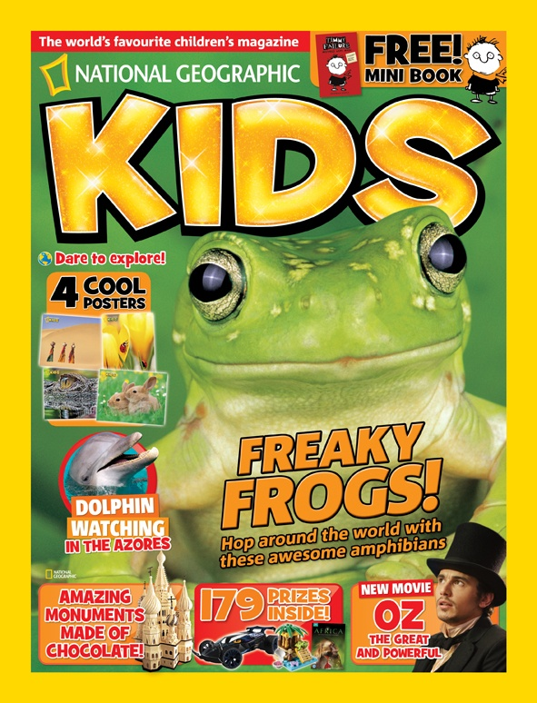 National Geographic Kids, April 2013