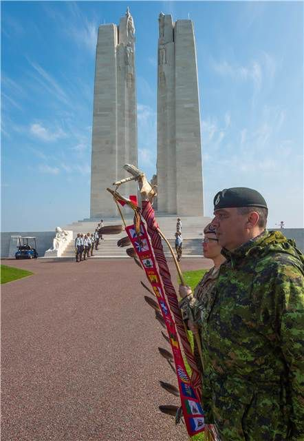 A century later, ceremonies across Canada and in France commemorate #Vimy100 and reinforce our commitment to never forget our fallen. 04/09/2017