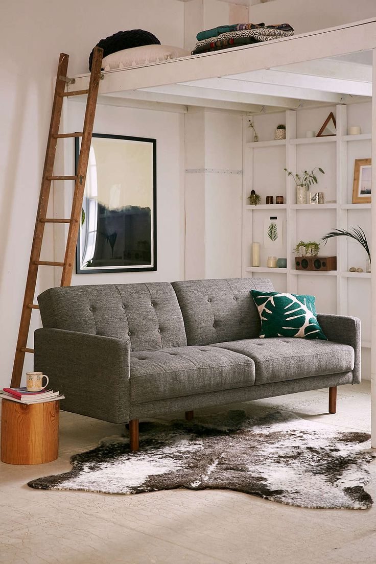 Urban Outfitters | Berwick Mid-Century Sleeper Sofa $849