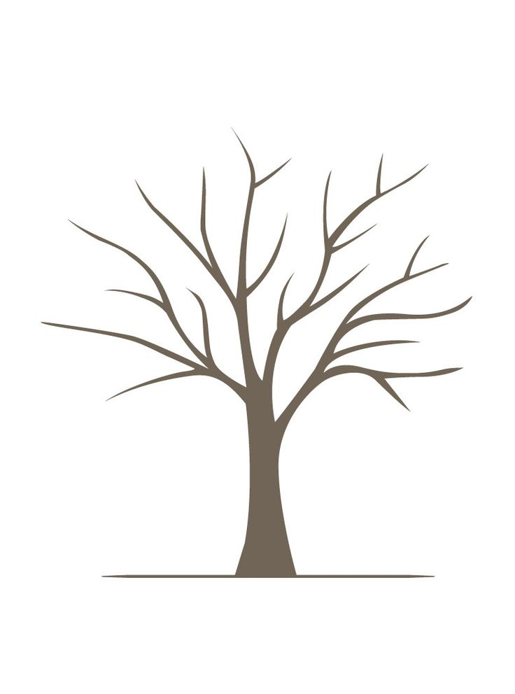 Crush image within free printable tree template