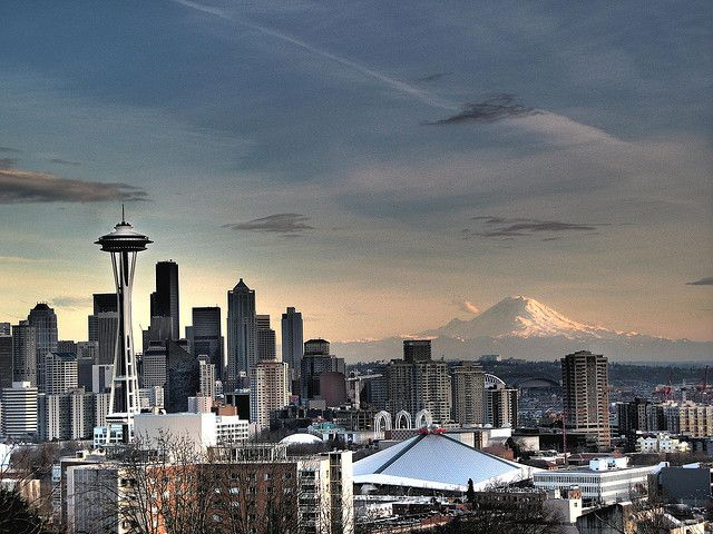 One of my favorite places to take in the Seattle city sky line - Kerry Park on Queen Anne Hill